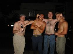 Shirtless Faggots